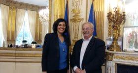 Ville & Banlieue rencontre Myriam El Khomri, ministre du Travail, de l'Emploi, de la Formation professionnelle et du Dialogue social