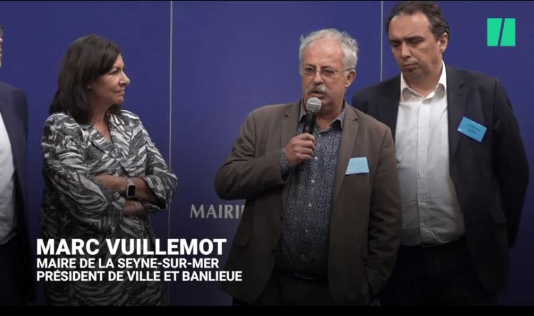 Marc Vuillemot, maire de la Seyne-sur-Mer et président de l'association Ville & Banlieue, pousse un coup de gueule à la tribune des Etats Généraux de la Politique de la Ville