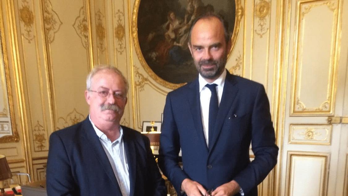 Le maire de La Seyne-sur-mer, président de Ville & Banlieue à Matignon
