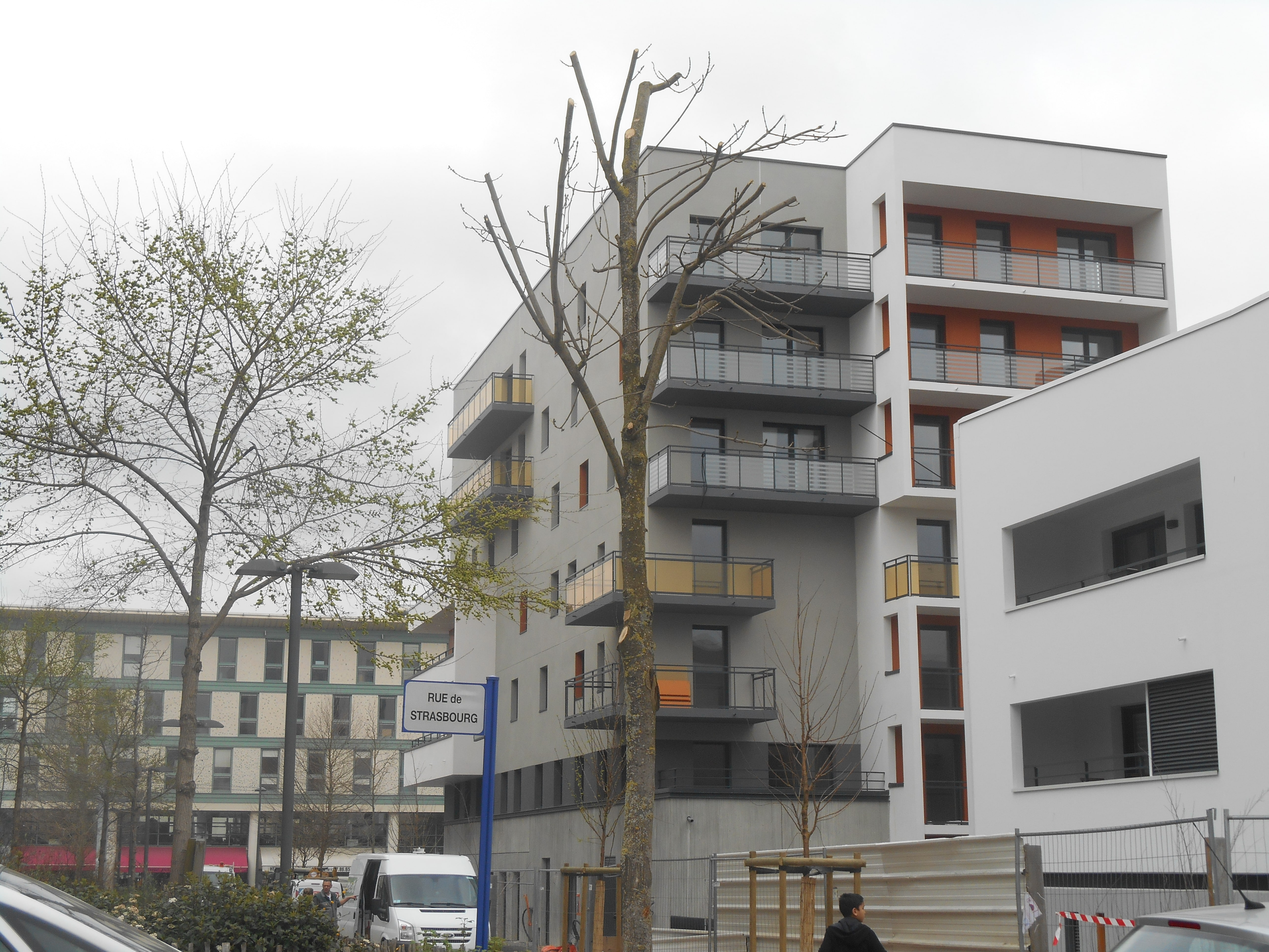 la rénovation urbaine des banlieues