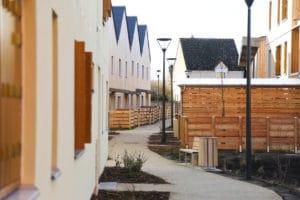 Eco-quartier au Val de Reuil; quand l'architecture frugale crée du lien social