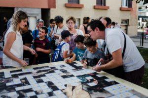 Jeu : Puzzle organisé pour la Fête de la République de Chenôve