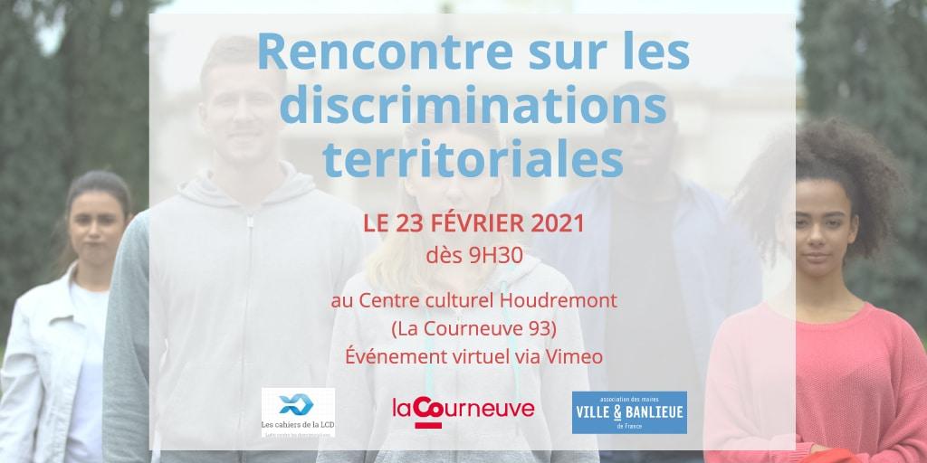 Retour en images et vidéos. Rencontre sur les discriminations territoriales à La Courneuve