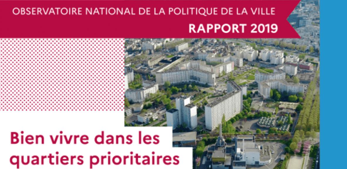 Synthèse du rapport ONPV 2019 - Bien vivre dans les quartiers prioritaires de la politique de la ville